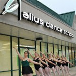 Curbside Ballerinas.JPG