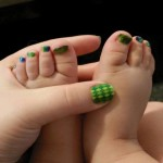 Wee Bit Charmed on Isabel's Toes.jpg