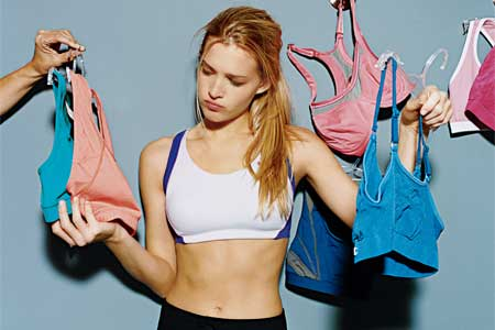 Sports Bra (Photo: David Lawrence/Women's Health Magazine)