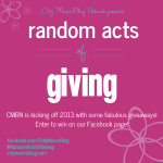 """CMBN's RandomActsOfGiving: a collection of 30+ """"must win"""" giveaways!"""