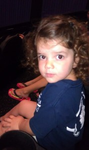 Evelyn at the movies
