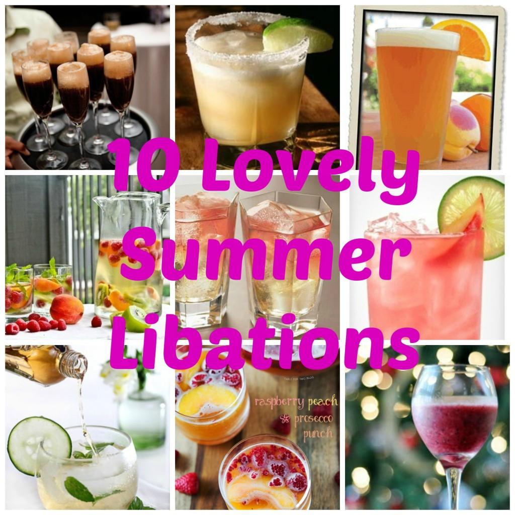 Lovely Summer House Design: 10 Lovely Summer Libations