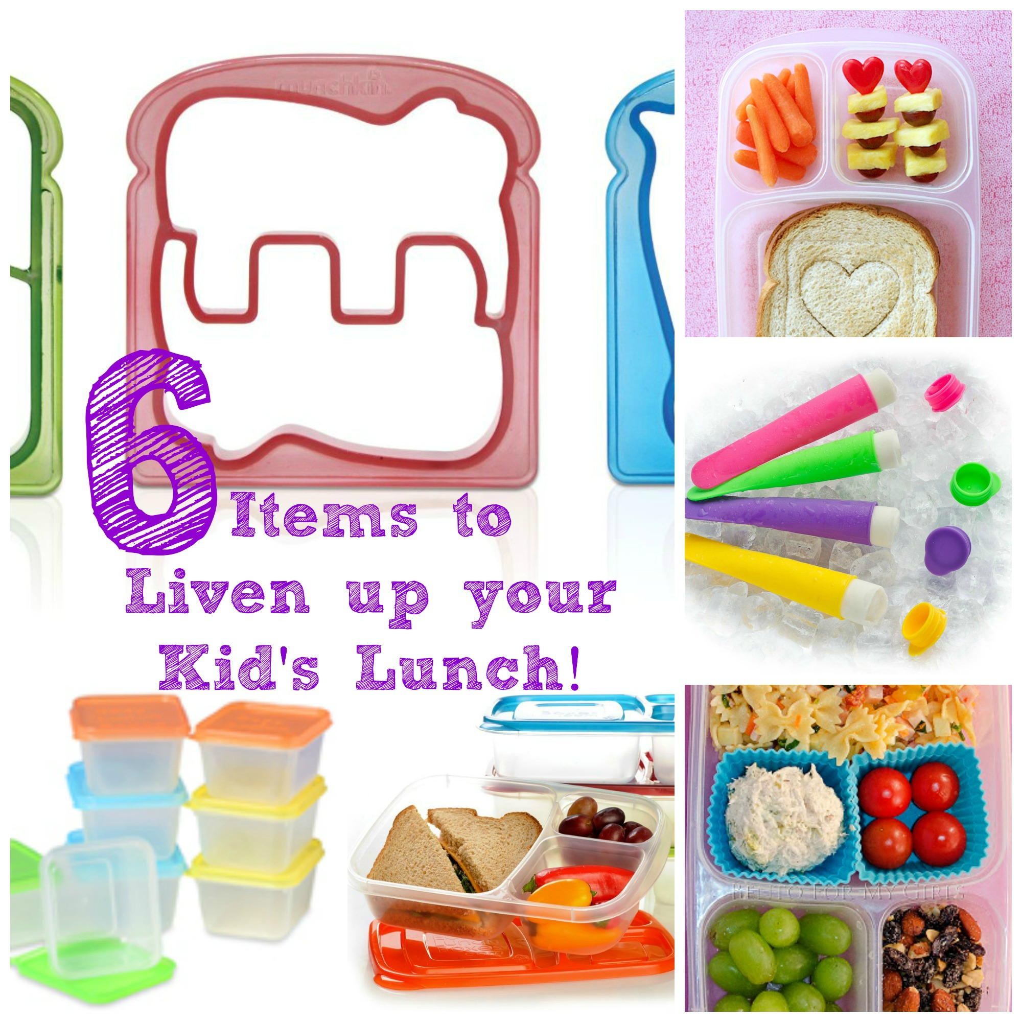 6 Items to Liven up Kids Lunch