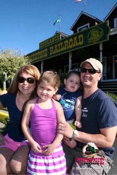 Family Pic at Tweetsie