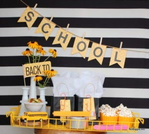 back to school traditions