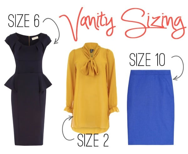 Vanity Sizing is real. Forget the numbers and buy what fits.