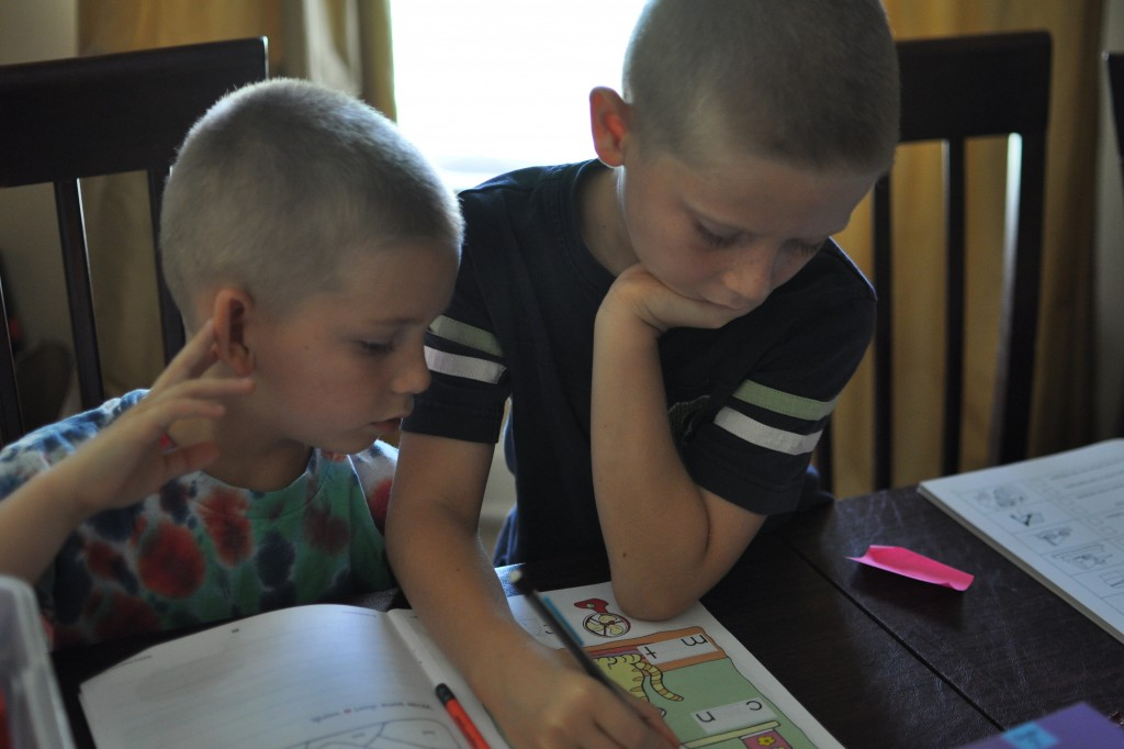 big helper - homeschooling