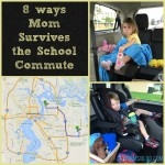8 Ways Mom Survives the School Commute
