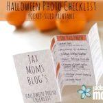 Free Halloween Photo Checklist – PRINTABLE