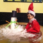 The Elf on the Shelf versus Mom