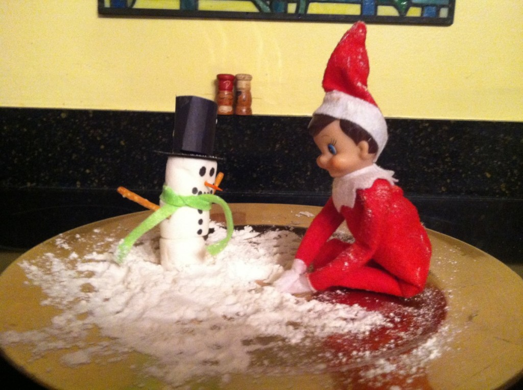 The Elf On The Shelf Versus Mom