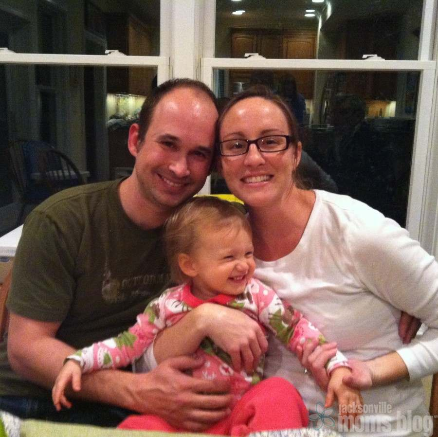 My sister Kaitlyn, brother-in-law Jarred, and niece CeCe