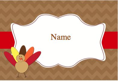 JMB Thanksgiving Place Card