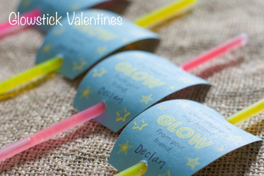 Glowstick Valentines
