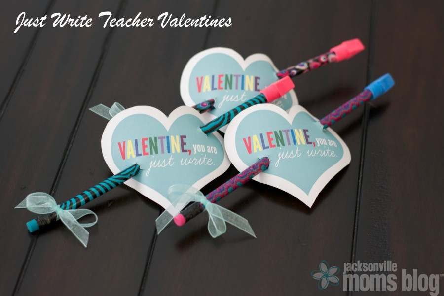 Just Write Teacher Valentines