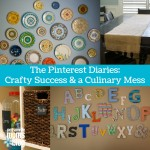 The Pinterest Diaries: Crafty Success and a Culinary Mess