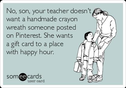 Teacher Appreciation ecard