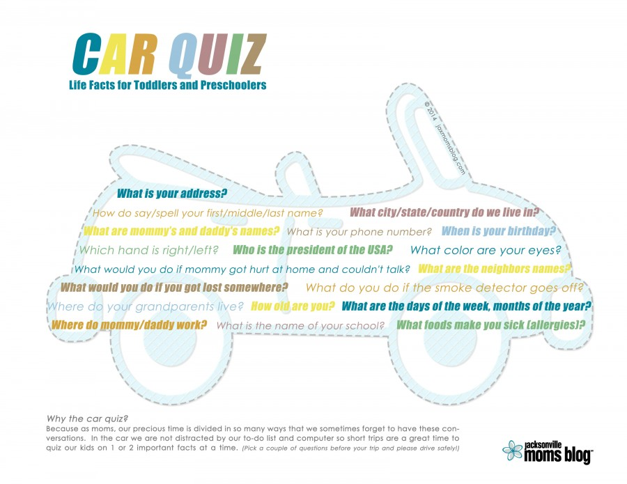 Car Quiz  Free Printable Quiz