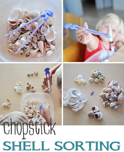 Chopstick Shell Sorting Jax Moms Blog