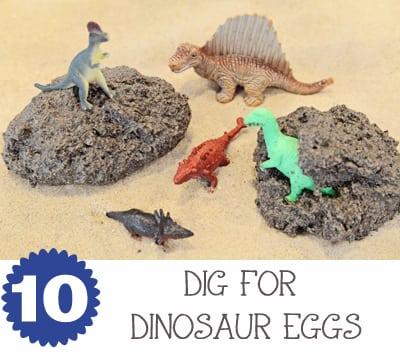 Dinosaur Eggs Water TableJaxMomsBlog