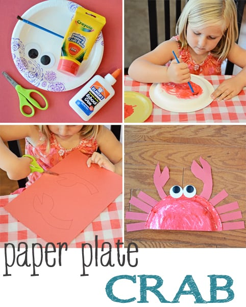 Paper Plate Crab Beach Craft Jax Moms Blog