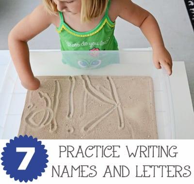 Sand Writing Water TableJaxMomsBlog