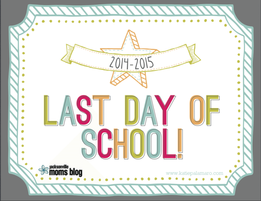 FREE Printable First Day/Last Day of School Signs 2014-2015!
