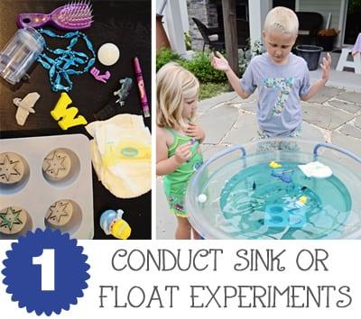 Sink Or Float Water Table JaxMomsBlog