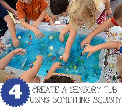 Squishy Sensory Tub JaxMomsBlog