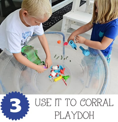 Water Table Playdoh JaxMomsBlog