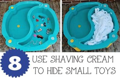 Water Table Shaving Cream JaxMomsBlog