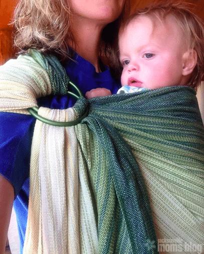 Baby Wearing Jax