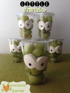 Frankenstein Fruit Cup