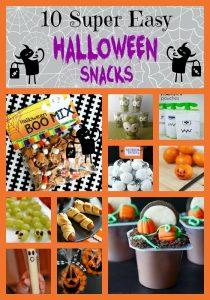 Easy Halloween Treatsfin