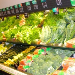 Native Sun's entire produce department is organic!