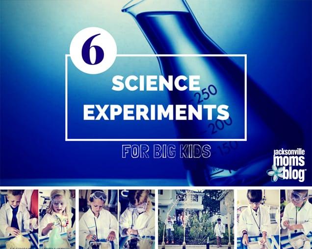 ScienceExperimentsForBigKids