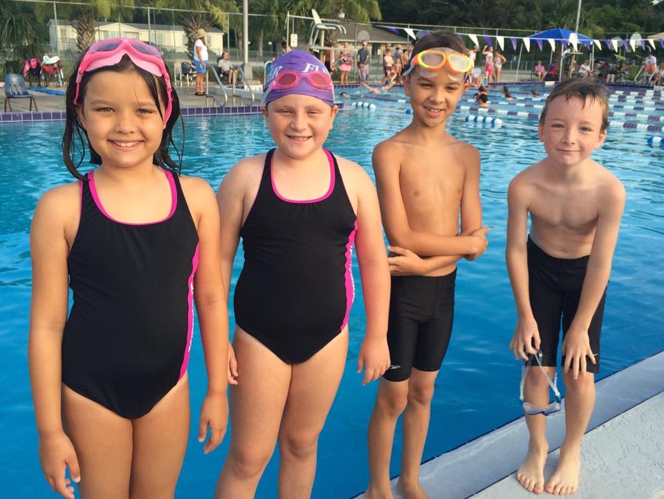 swim meet for kids