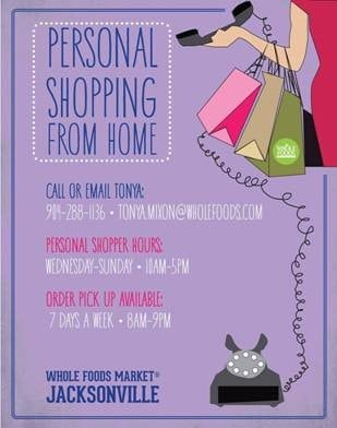 The personal shopper experience with whole foods market - Home personal shopper ...