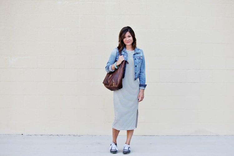 3 Ways To Wear A Midi Dress
