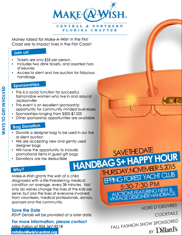 Handbags and Happy Hour