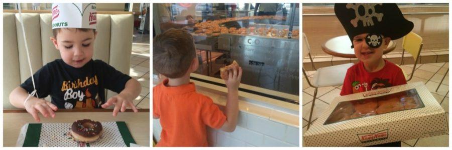 It is always a fun time at Krispy Kreme!
