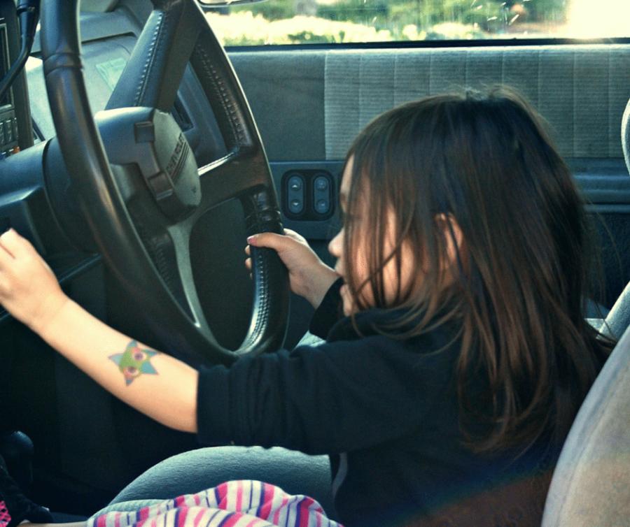 Threenager Driving