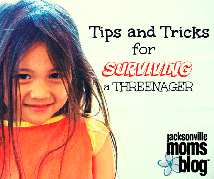 Tips and Tricks for Surviving a Threenager