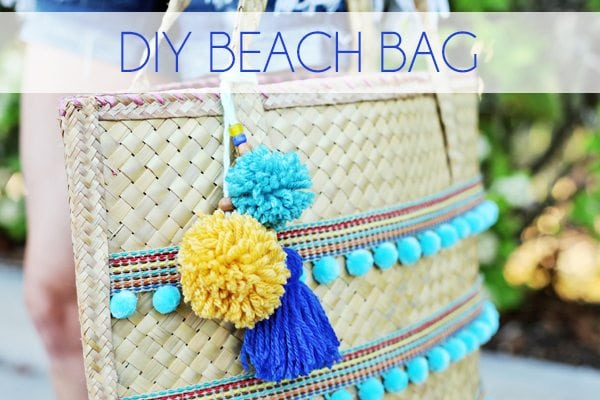 DIY Beach Bag - Blog