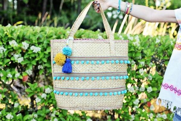 diy straw beach bag-blog