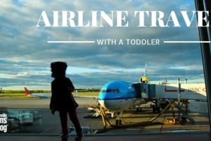 Airline Travel with Toddlers