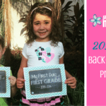 Free Printable First Day of School/Last Day of School Signs