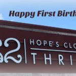 Hope's Closet Turns One!