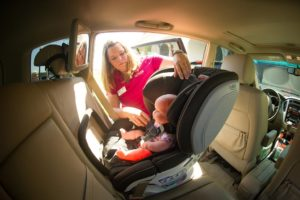 The Britax Advocate ClickTight car seat with Anti-Rebound Bar. Pretty sweet, huh? Photo Credit Jaiden Photography