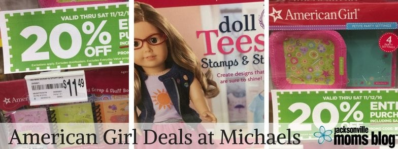 American Girl Deals at Michaels Jacksonville Moms Blog